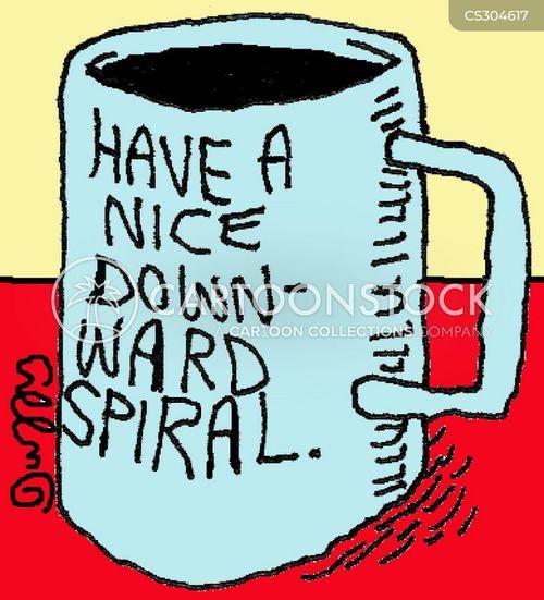 tea cup cartoon
