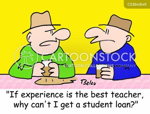 experience is the best teacher cartoon