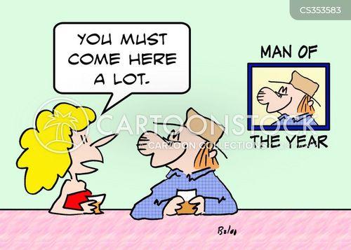 man of the year cartoon