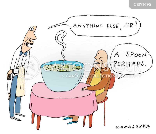 spoons cartoon