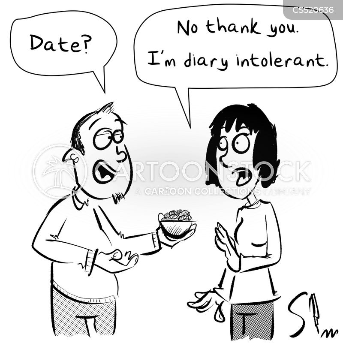 dairy intolerant cartoon