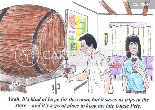 crypt cartoon