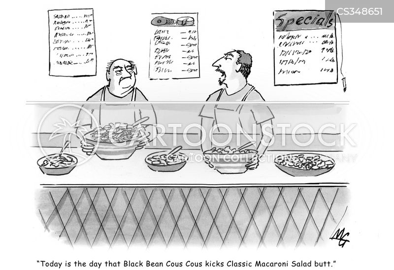 lunch order cartoon