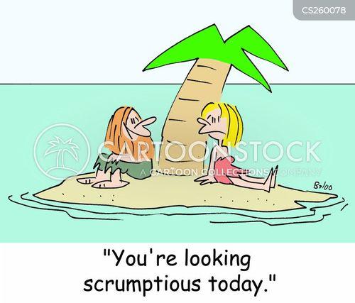 scrumptious cartoon