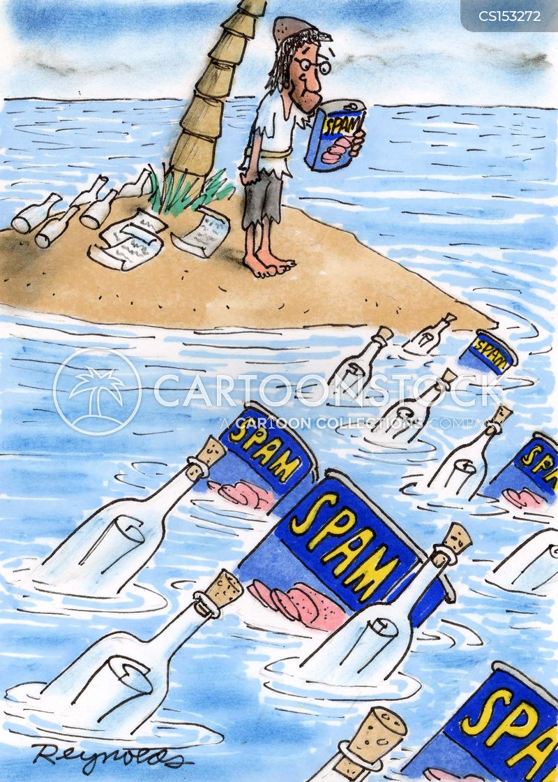 can of spam cartoon
