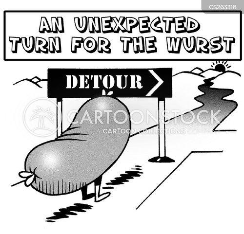 divert cartoon
