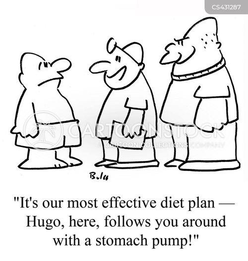 over eater cartoon