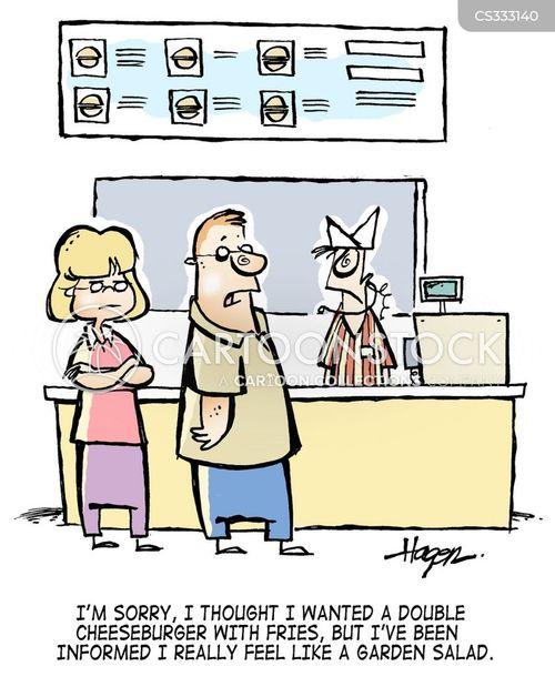 calory cartoon