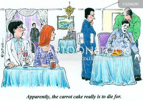 carrot cake cartoon