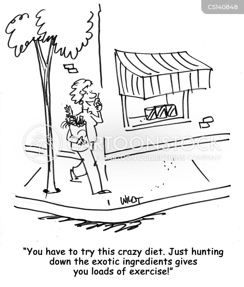 crash diet cartoon