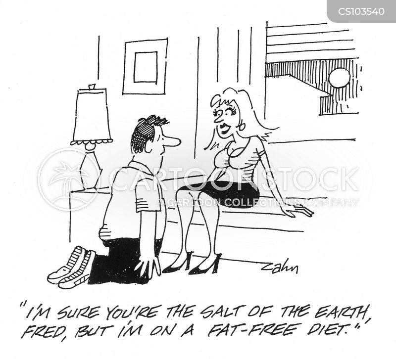 low fat diets cartoon