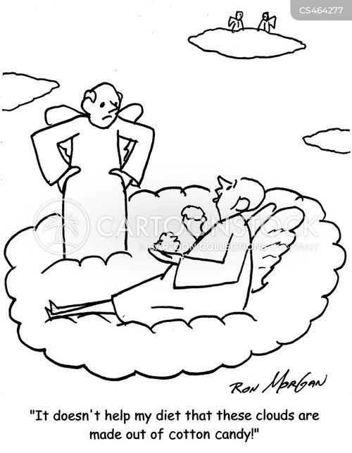 fairy floss cartoon
