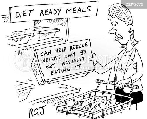 ready meals cartoon