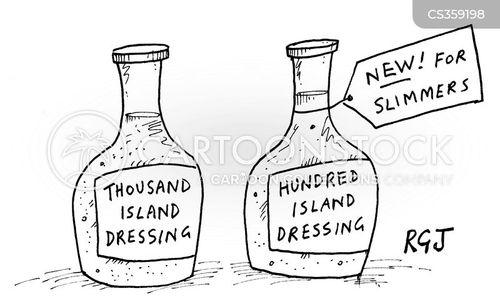 dressings cartoon