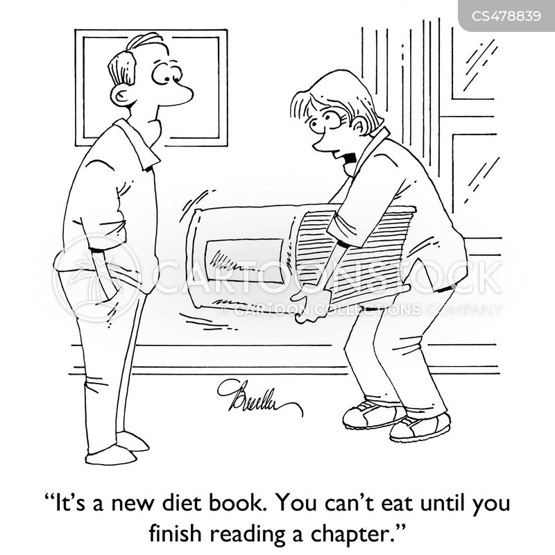 dieting fad cartoon