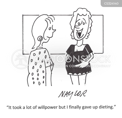 will-power cartoon