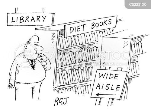 wide aisle cartoon