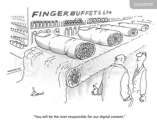 digits cartoon