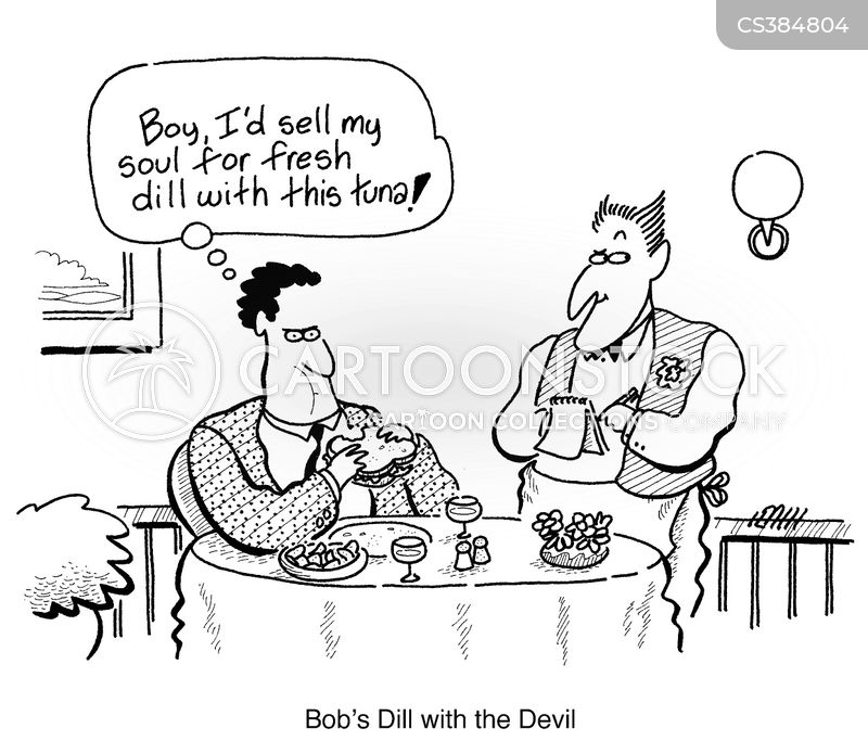 Sell Your Soul To The Devil Cartoons and Comics - funny