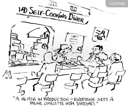 omelettes cartoon