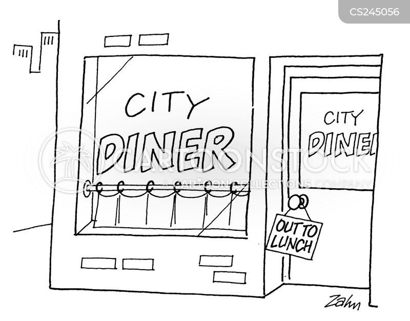 late lunch cartoon