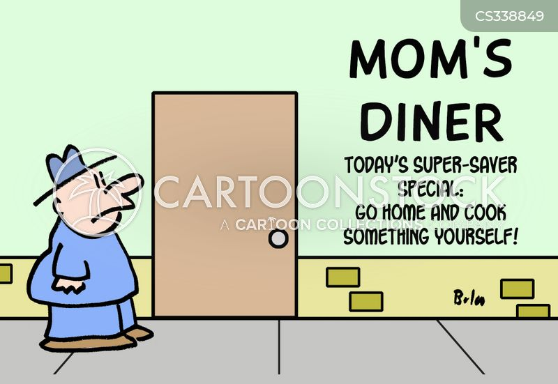 home cooked cartoon
