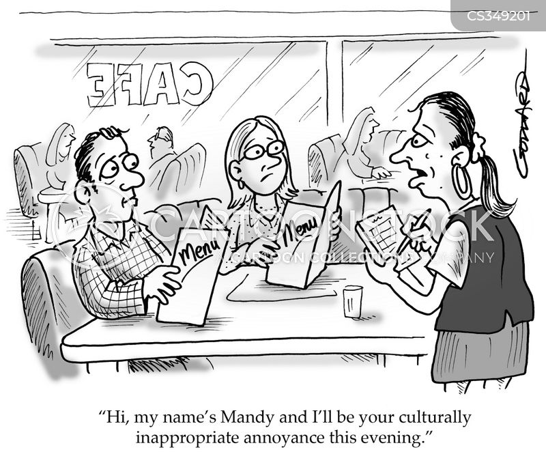 american diners cartoon