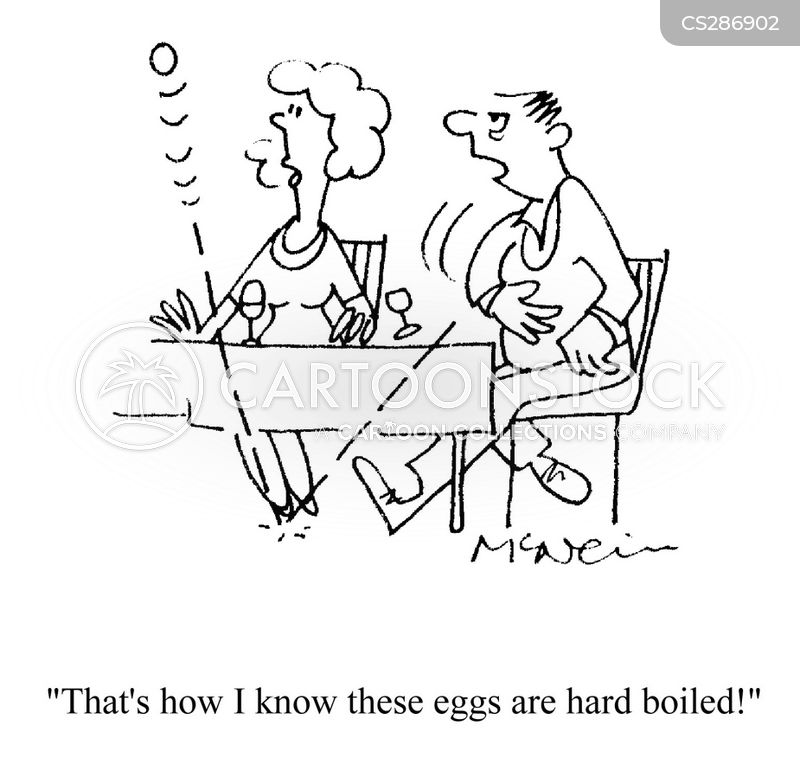egg cups cartoon