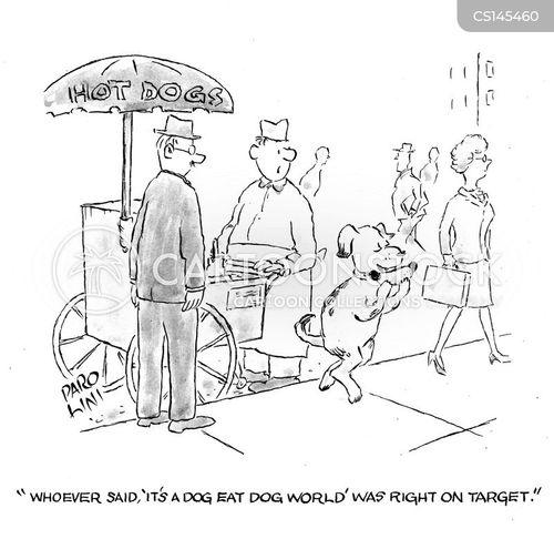 dog eat dog world cartoon