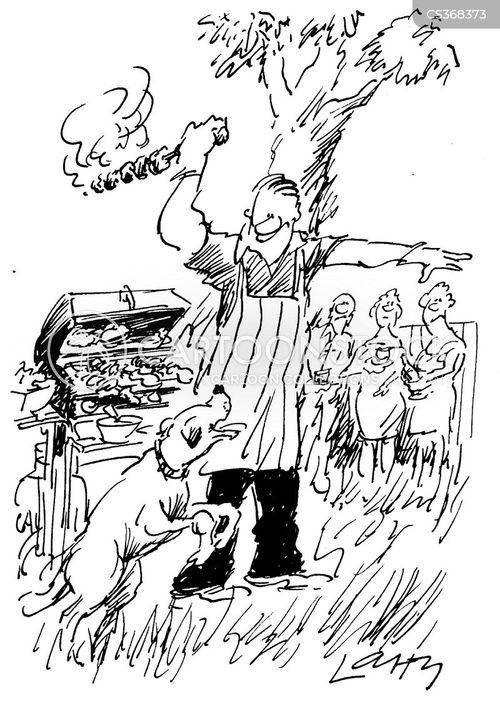 skewer cartoon