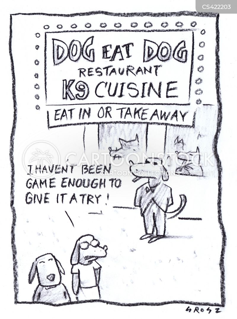 exotic cuisine cartoon