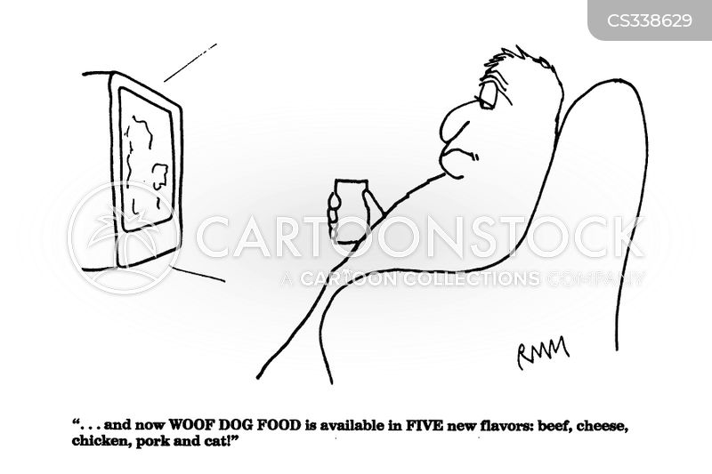 dog meat cartoon