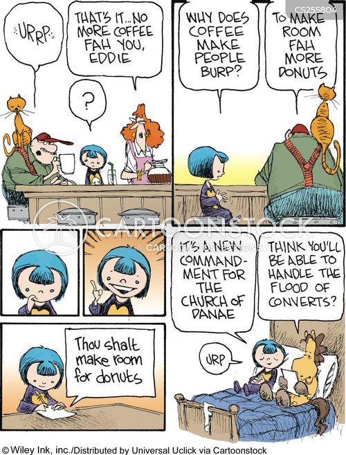 danae cartoon