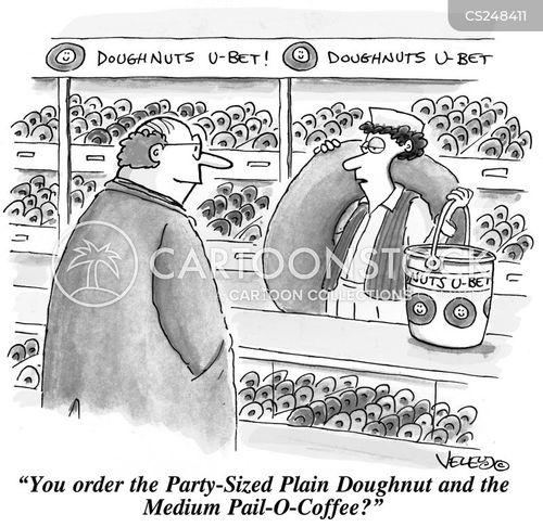 doughnut shops cartoon