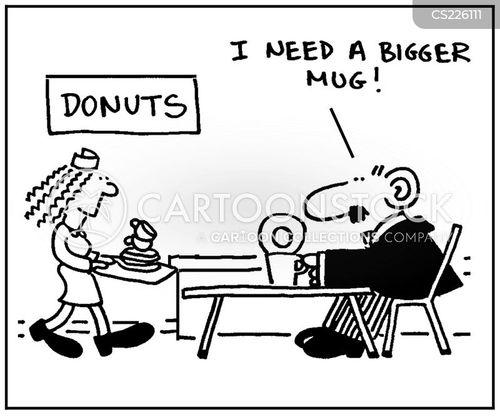 lunch lady cartoon