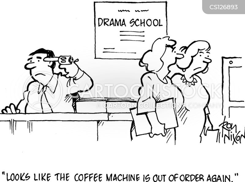 Drama School cartoons, Drama School cartoon, funny, Drama School picture, Drama School pictures, Drama School image, Drama School images, Drama School illustration, Drama School illustrations