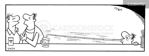 drinking straws cartoon