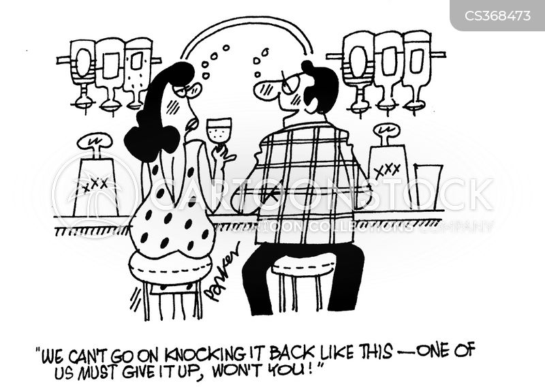 drinking partners cartoon