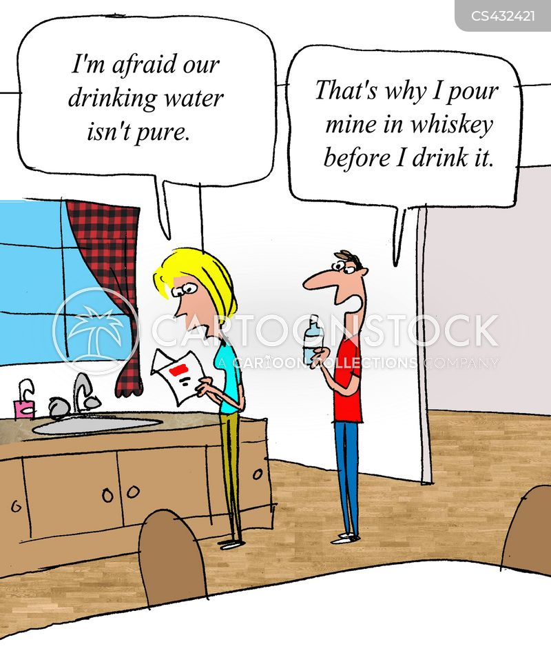 Drinking Waters Cartoons And Comics Funny Pictures From