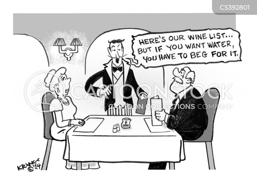water rationing cartoon