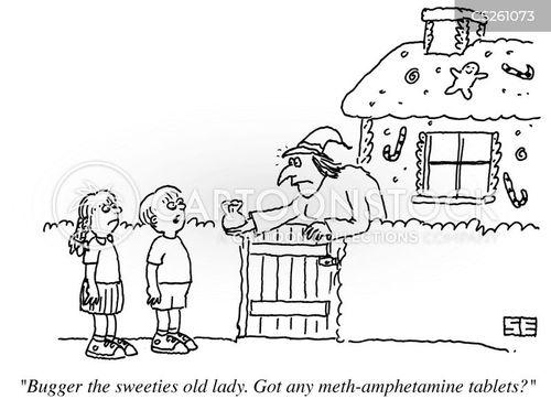meth cartoon