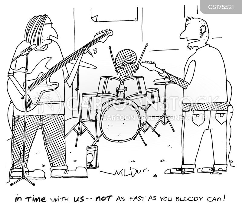 Band Cartoon, Band Cartoons, Band Bild, Band Bilder, Band Karikatur, Band Karikaturen, Band Illustration, Band Illustrationen, Band Witzzeichnung, Band Witzzeichnungen