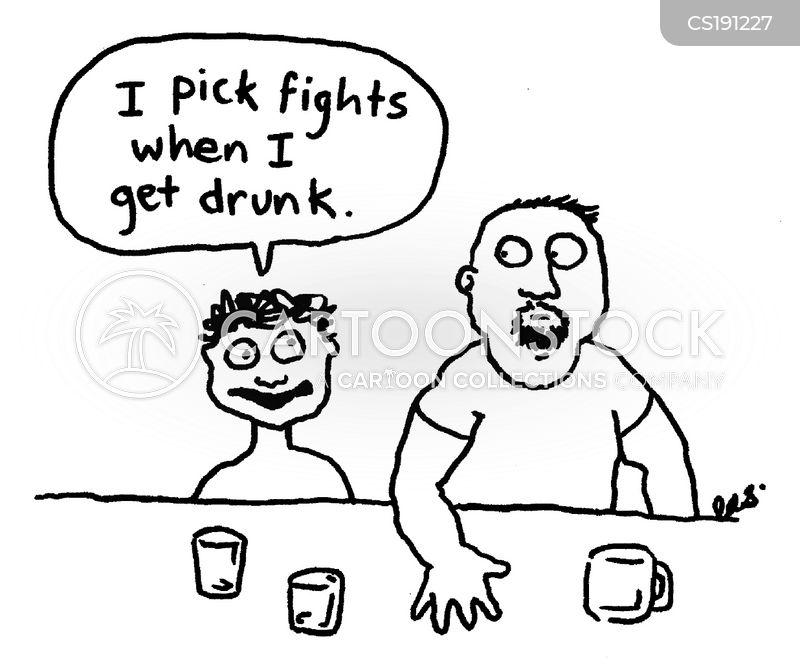 Picking Fights Cartoons And Comics Funny Pictures From Cartoonstock
