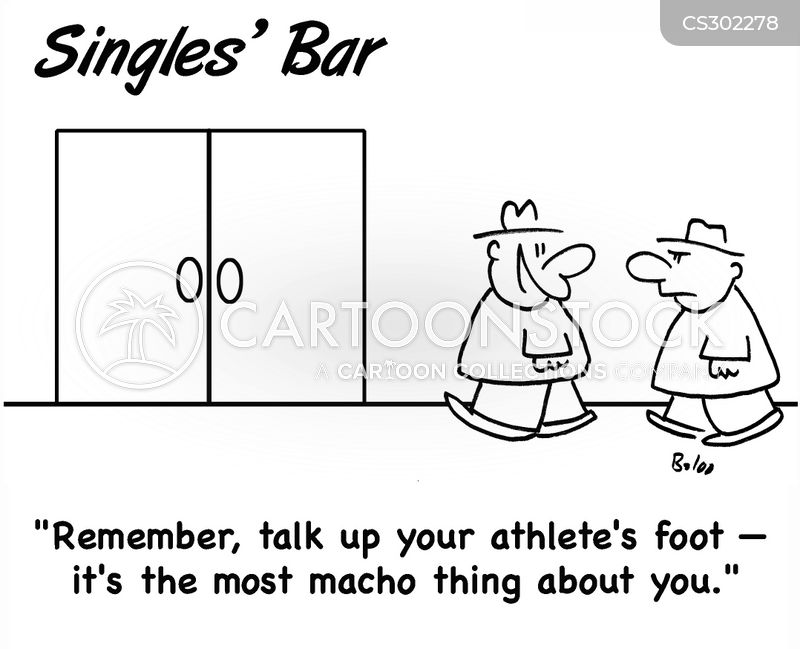 athletes foot cartoon