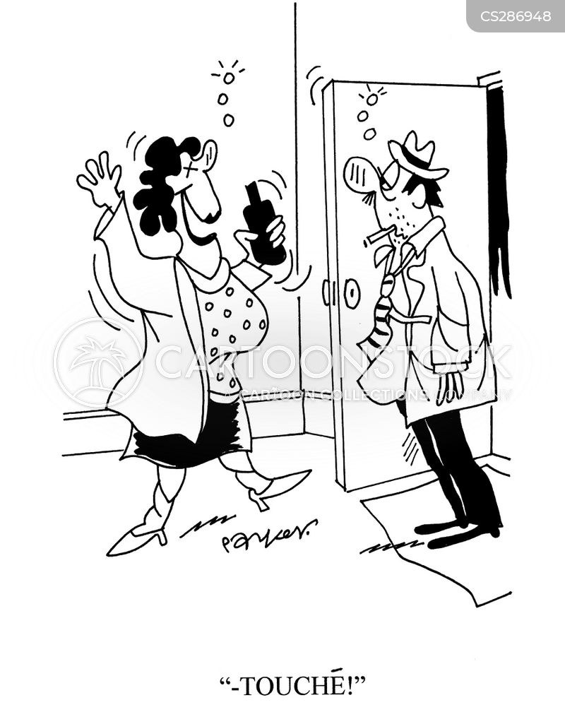 Competing Wife Cartoons And Comics Funny Pictures From Cartoonstock