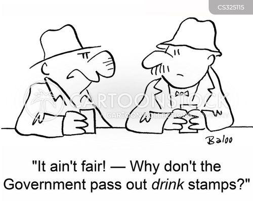 food stamps cartoon