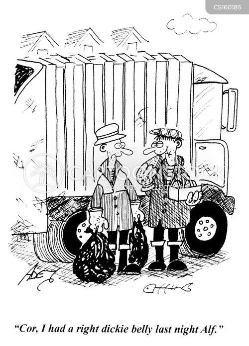 dustbin man cartoon