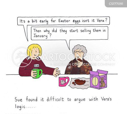 logical cartoon