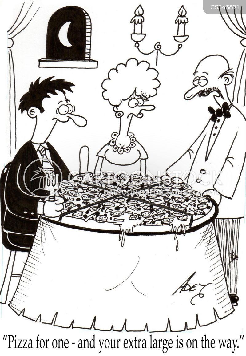 large portion cartoon