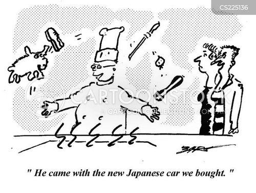 japanese car cartoon
